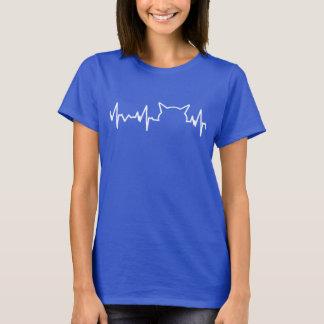 Katzen-Herzschlag T-Shirt