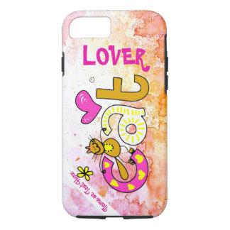 Katzen-Liebhaber-Cartoon-Spaß-Foto-Telefon-Kasten iPhone 7 Hülle