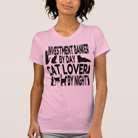 Katzen-Liebhaber-Investmentbanker T-Shirt