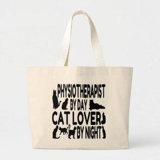Katzen-Liebhaber-Physiotherapeut Jumbo Stoffbeutel
