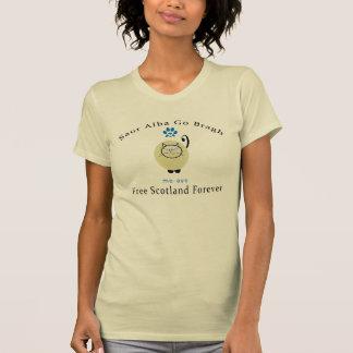 Katzen-Liebhaber sagen ja schottischen T-shirt