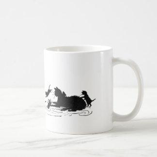 Katzen mit Kätzchen-Becher Kaffeetasse