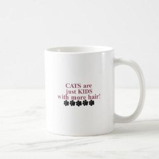 Katzen mit mehr Haar Kaffeetasse