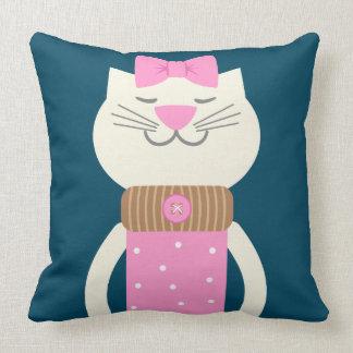 Katzen-Mode Kissen