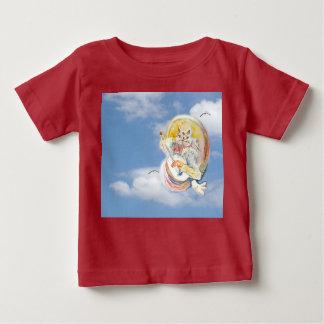 Katzen-Musik in den Wolken Baby T-shirt