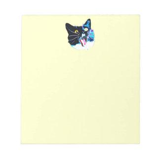 Katzen-Notizblock Notizblock
