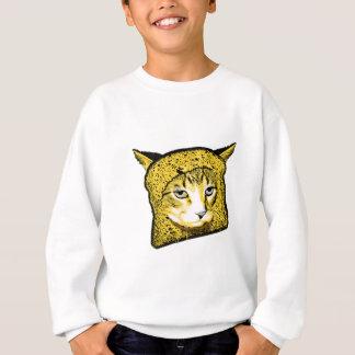 Katzen-Panieren Sweatshirt