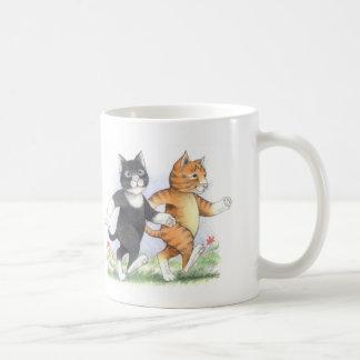 Katzen-Power-gehende klassische Tasse