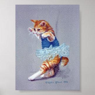 Katzen-Tanzen Poster