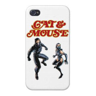 Katzen- u. Mäusetelefonabdeckung iPhone 4/4S Cover