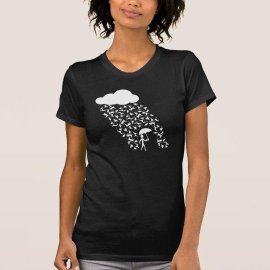 Katzen-und Hunderegen T-Shirt