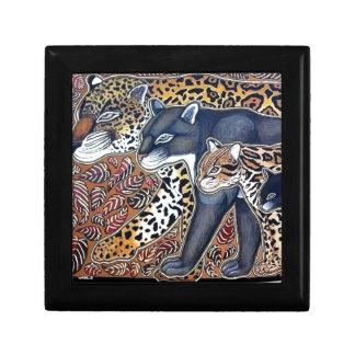 Katzen von Costa Rica - Big cats Juwelier Schmuckschachtel