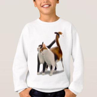 Katzenartige Freunde Sweatshirt