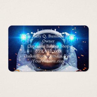 Katzenastronaut - Katzen im Raum - Katzenraum Visitenkarte