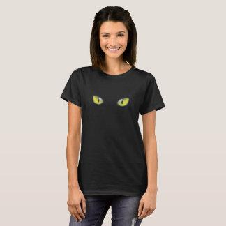 Katzenaugen-Gelb T-Shirt
