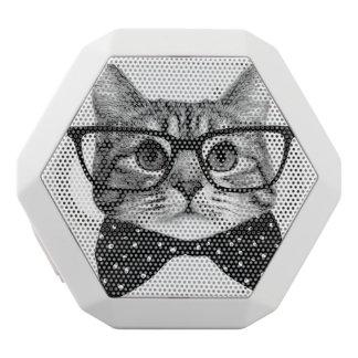 Katzenbogen-Krawatte - Glaskatze - Glaskatze Weiße Bluetooth Lautsprecher