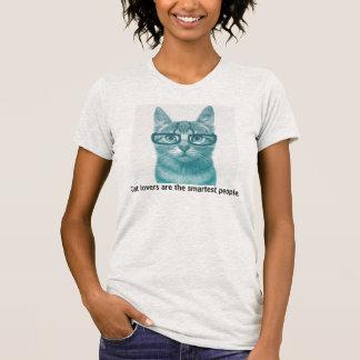 Katzenliebhaber sind die intelligentesten Leute T-Shirt