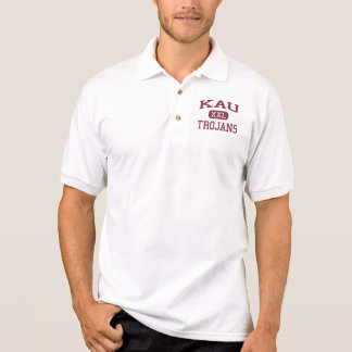 Kau - Trojan - Highschool Kau - Pahala Hawaii Poloshirt