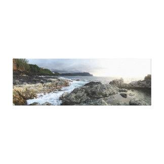 Kauai-Gezeiten-Pools Leinwanddruck