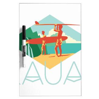 Kauai-Surfer Memoboard