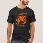 Kauf-Glück - Orange auf Schwarzem (KTM) T-Shirt