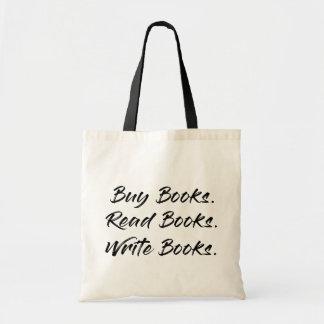 Kauf, schreiben, lasen Tasche