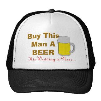 Kaufen Sie diesen Mann ein Bier, das seine Hochzei Retro Cap
