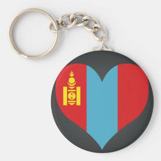 Kaufen Sie Mongolei-Flagge Standard Runder Schlüsselanhänger