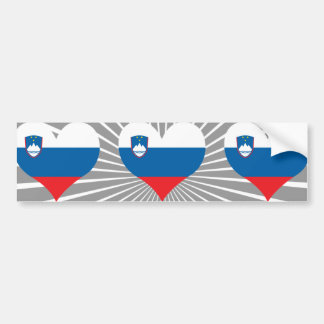 Kaufen Sie Slowenien-Flagge Autoaufkleber