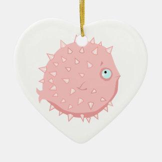 Kaugummi Blowfish Keramik Ornament