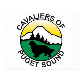Kavaliere von Puget Sound-Logo Postkarte
