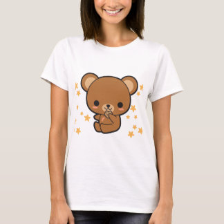 Kawaii Braunbär T-Shirt