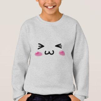 kawaii emoji sweatshirt