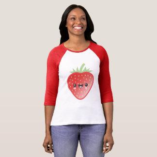 Kawaii Erdbeere T-Shirt