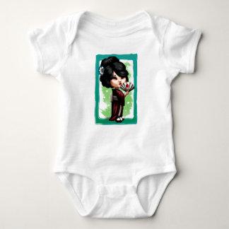 Kawaii Geisha Baby Strampler