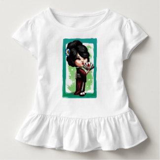 Kawaii Geisha Kleinkind T-shirt
