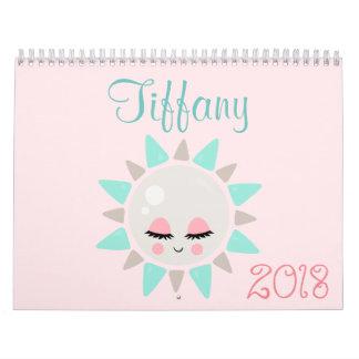 Kawaii Glück 2018 Kalender