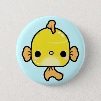Kawaii Goldfisch (Sie ändern den Hintergrund!) Runder Button 5,7 Cm