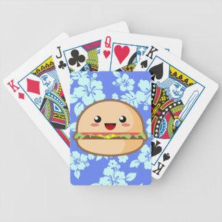 Kawaii Hamburger Bicycle Spielkarten