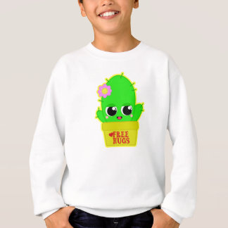 Kawaii Kaktus Sweatshirt
