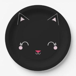 kawaii Kitty CAT-GEBURTSTAGS-Party-Platte Pappteller