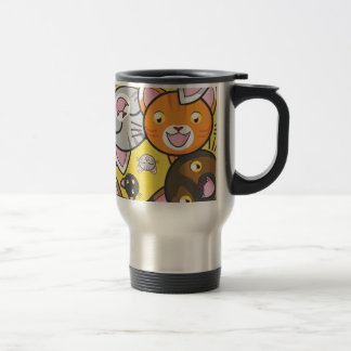Kawaii Kitty-Reise-Tasse Edelstahl Thermotasse