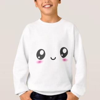 Kawaii kleines Lächeln Sweatshirt