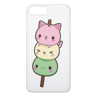 Kawaii Mochi Kätzchen iPhone 8 Plus/7 Plus Hülle