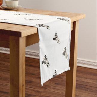 Kawaii Panda-Mädchen Kurzer Tischläufer