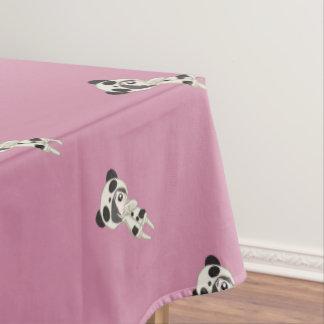 Kawaii Panda-Mädchen Tischdecke