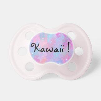 Kawaii PastellColorfull Raum-Hintergrund Schnuller