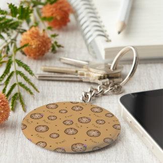 Kawaii Schokoladensplitter-Plätzchen Schlüsselanhänger