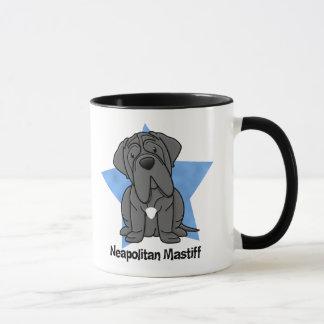 Kawaii Sternneapolitanischer Mastiff Tasse