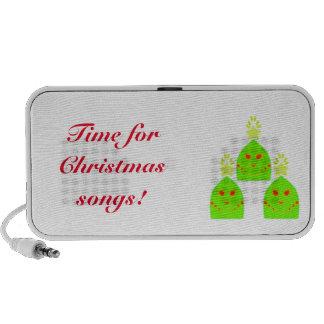 Kawaii Weihnachtsbaum-Gekritzel Notebook Speaker